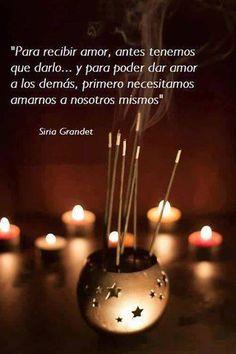 Para recibir amor, antes tenemos que darlo...*