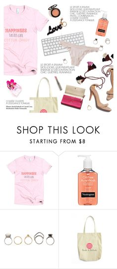"""happiness tastes like cotton candy"" by bookandballads ❤ liked on Polyvore featuring Neutrogena, Iosselliani, Ulla Johnson, Only Hearts, STELLA McCARTNEY and Garance Doré"