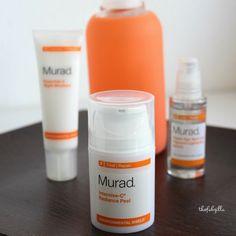 Murad Intensive-C Radiance Peel, Review, Home Facial Spa