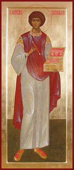 St Panteleimon the Healer and Great Martyr / Мерная икона