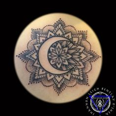 mandala with crescent moon - Google Search