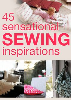 45 sensational sewing inspirations