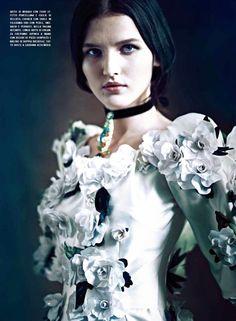Paolo Roversi for Vogue Italia September 2012