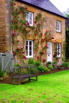 Jasmine Cottage, Wiltshire, England.