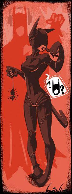 KX Art: Fan art ! Catwoman !