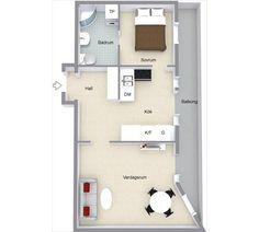 Planos con medidas para departamento de 50 metros for Ikea piso 50 metros