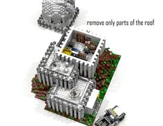 Hello and welcome to my next Idea: Sky Mountain Observatory After my last Observatory didn't made it I started to create a new one. It ended up that I created 4 different styl. Lego Space Station, Sky Mountain, Create, Projects, Science, Log Projects, Blue Prints