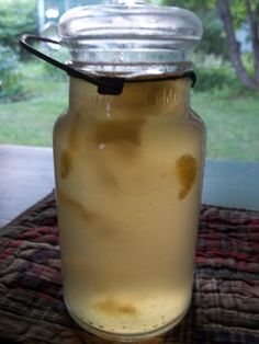lovely summer lemon drink recipe...   so easy and store in a mason jar..