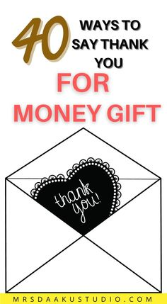 Do you write a thank you note for money gifts to show your gratitude and appreciation? Read on to learn how to thank someone for a cash gift. Free Money Now, Make Money Online, How To Make Money, Thank You Card Wording, Thank You Cards, Online Work From Home, Work From Home Jobs, Earn Extra Cash, Extra Money