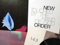 """New Order :: """"Touched By The Hand of God"""" (Fac 193) 12"""" & """"Shellshock"""" 12"""" (Fac 143) & """"Bizarre Love Triangle"""" 12"""" (Fac 163) #neworder #factoryrecords #petersaville #fac143 #fac163 #fac193"""