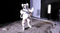 Výsledek obrázku pro moon landing open door in tv studio