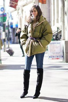 Pin for Later: Genießt das Wochenende mit den besten Street Style Shots der Fashion Week Street Style bei der New York Fashion Week, Februar 2016 Emmanuelle Alt