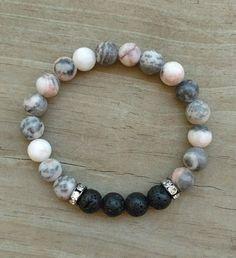 Lava bead bracelet lava stone bracelet essential oil