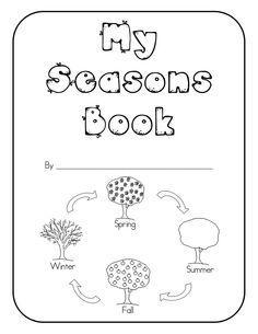 My Seasons Book