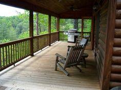 "Blue Ridge Georgia Vacation Rentals - North Georgia Vacation ""Big Dog"" Cabin"