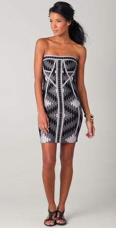 Don't really care for the whole Herve Leger trend but this one is an exception.