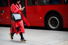 On the Streets of London Fashion Week Fall 2015 - London Fashion Week Fall 2015 Street Style Day 3