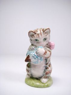 Vintage Beatrix Potters Miss Moppet Beswick by PSSimplyVintage,