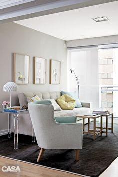 Mesa quadrada com tampo de vidro e cadeiras Preta de Jannini