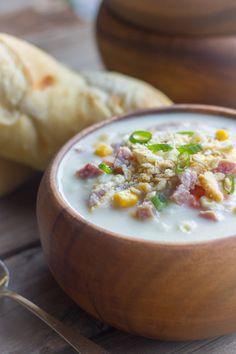 Creamy Potato Soup With Ham