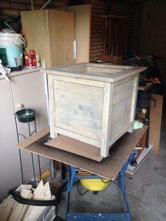 Self made planter box