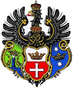 coat of arms Königsberg, East Prussia ◁ ✠