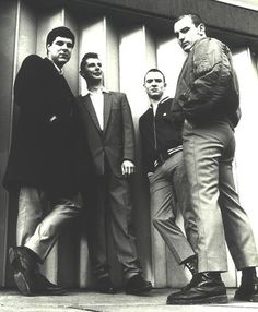 the 4 skins Teddy Boys, Skinhead Boots, Skinhead Fashion, Northern Soul, Ben Sherman, Fred Perry, Oi Bands, Punk Rock, Zine