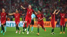 Selecção nas meias-finais do Euro 2016