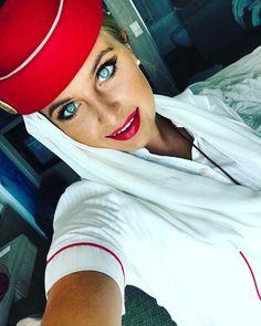 From @jjessica___ Bye Jakarta  #work #travel #travelgram #traveller #cabincrew #red #lipstick #smile #makeup #eyes #girl #traveling #fly #emirates #dubai #crewiser #aircrew #stewardess #pilot #flightcrew #crewlife #flightattendant #flying #airline #flightattendants #airlines #steward #flightattendantlife #crewfie #plane