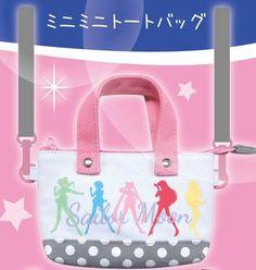 Sailor Moon Mini Tote Bag — Sailor Senshi $20.00 http://thingsfromjapan.net/sailor-moon-mini-tote-bag-sailor-senshi/ #sailor moon bag #sailor moo item #anime bag
