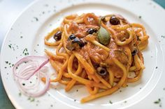 Pasta with Spicy Tomato-Beer Sauce Recipe | SAVEUR