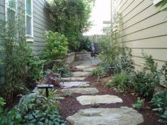 great side yards...