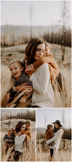 Washington Lifestyle Family Session in a Field at Sunset - Jessica Heron Images Neutral Family Photos, Fall Family Portraits, Family Portrait Poses, Outdoor Family Photos, Fall Family Pictures, Family Posing, Family Family, Fall Family Picture Outfits, Family Picture Poses
