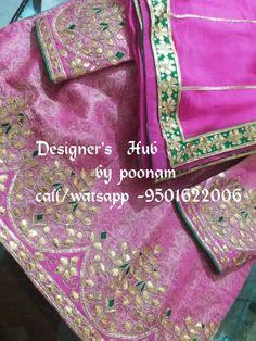 Embroidery Suits Punjabi, Embroidery Suits Design, Hand Embroidery, Gota Patti Suits, Patiala Salwar, Work Sarees, Indian Designer Wear, Punjabi Suits, Lehenga