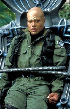 An Announcement from Stargate Command Best Sci Fi Series, Best Sci Fi Shows, Great Tv Shows, Tv Series, Michael Shanks, Stargate Universe, Babylon 5, Stargate Atlantis, Person Sitting
