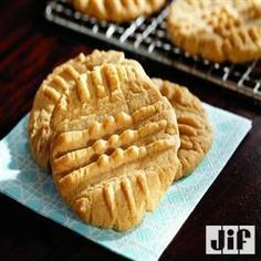 Irresistible Peanut Butter Cookies from Jif®