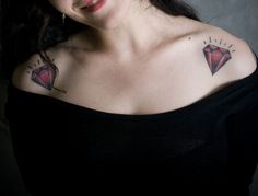 One of these on my left wrist, but without the shiny flare coming off the top. OCTOBER IT IS HAPPENING! I <3 my Ruby.