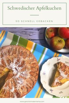 Snacks, Recipes, Cinnamon Roll Apple Pie, Quick Recipes, Swedish Apple Pie, Nordic Kitchen, Recipes For Children, Appetizers