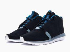 Nike Roshe Run NM Sneakerboot Black New Slate - KixandtheCity.com