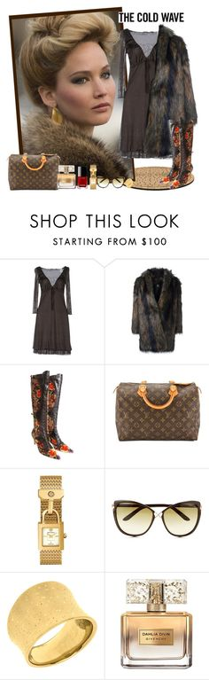 """""""Rosalyn ... American Hustle"""" by krusie ❤ liked on Polyvore featuring Miss Sixty, Paul Smith, Etro, Louis Vuitton, Tory Burch, Tom Ford, Givenchy and Chanel"""