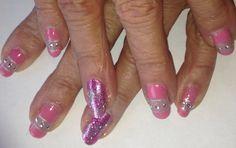 Jojo's negative space nails