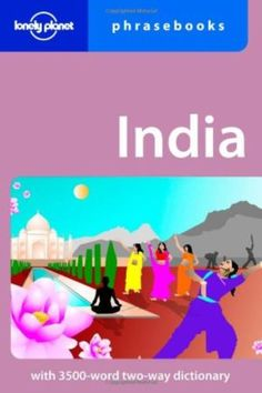 India Lonely Planet Phrasebook 9781741791419
