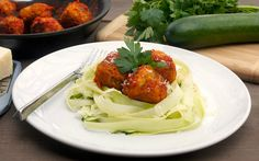 """Chicken-Zucchini Meatballs 