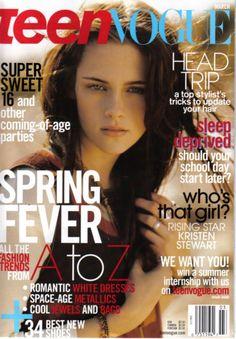Kristen Stewart  Teen Vogue   March 2007