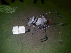 Drone με ναρκωτικά κατέπεσε σε... πάρκινγκ σούπερμαρκετ στο Μεξικό ~ Geopolitics & Daily News