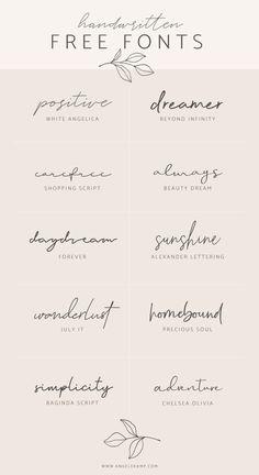 Tattoo Fonts Cursive, Hand Lettering, Lettering Tattoo, Free Tattoo Fonts, Delicate Tattoo Fonts, Number Tattoo Fonts, Best Tattoo Fonts, Script Tattoos, Arabic Tattoos