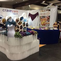 Excited for another day at #Stitcheswest with @craveyarn ! Come see us in booth 1237. #loveandleche