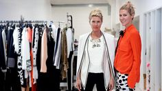 THE fashion duo behind the successful label sass & bide, a favourite of international celebrities including Sarah Jessica Parker, have stepped down from the board of their business.