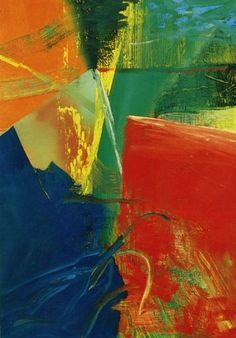 "Gerhard Richter, ""Abstract Painting"", 1985, Catalogue Raisonné: 578-4. Imagen tomada de http://www.gerhard-richter.com Be Sure To Visit: http://universalthroughput.imobileappsys.com/"