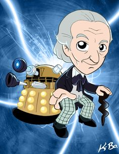 First Doctor Who William Hartnell by Kevinbolk. #doctorwho